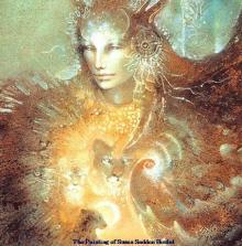 Shamanism, painting of Susan Seddon boulet
